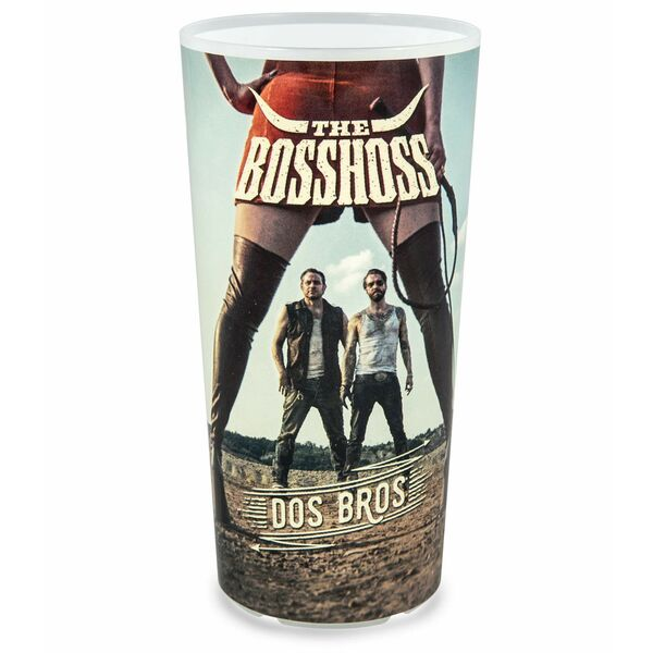 The Boss Hoss Plastikbecher mit Fotodruck