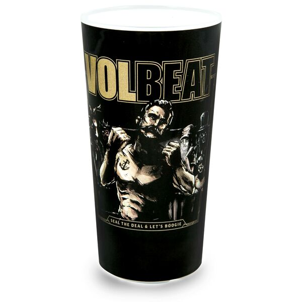Volbeat Lets Boogie Fan Becher mit Fotodruck