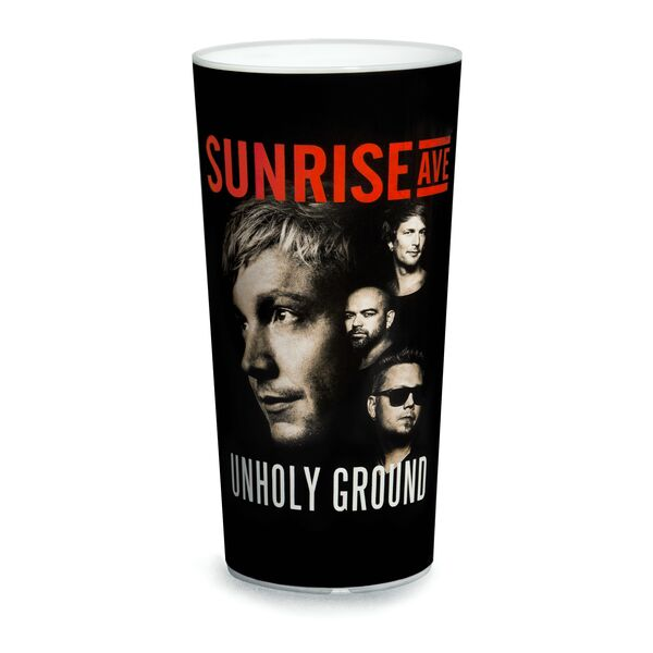 Sunrise Avenue Unholy Ground Tour Becher mit Fotodruck