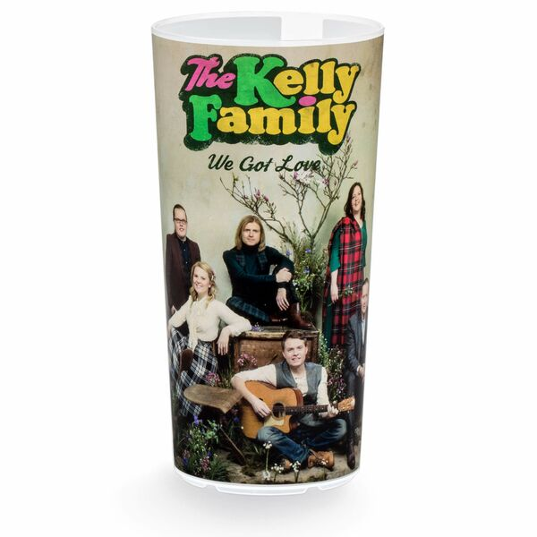 Kelly Family We Got Love Tour, Mehrwegbecher mit Fotodruck